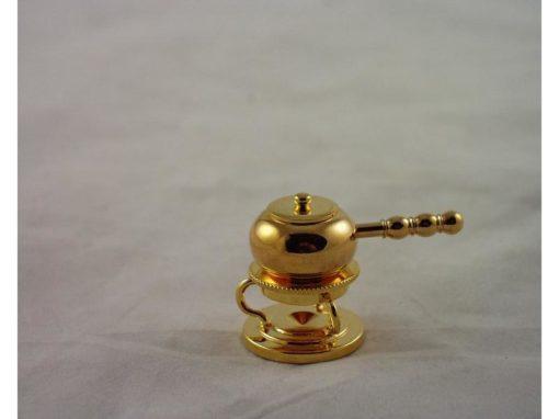 Fonduestel miniatuur 3cmH