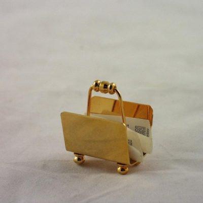 Krantenbak miniatuur 3cmH