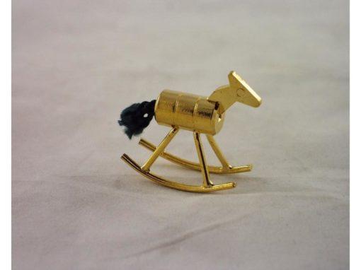 Hobbelpaard miniatuur 3cmH