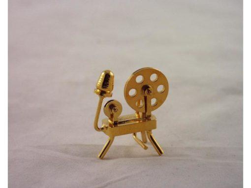 Spinnewiel miniatuur 4cmH