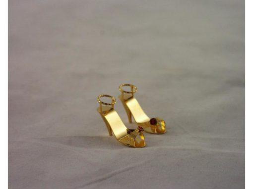 Damesschoentjes stel miniatuur 1.5cmH