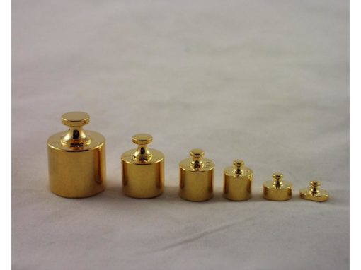 Gewichten set miniatuur 2.5cmH