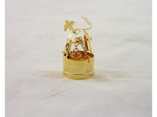 Waterput met emmer miniatuur 4cmH