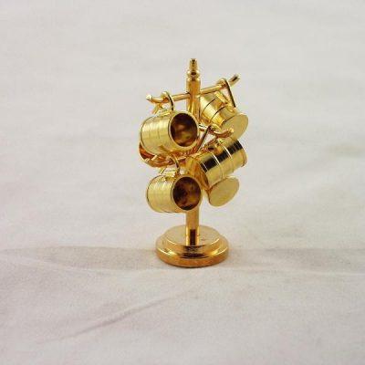 Mokkenrek miniatuur 5cmH