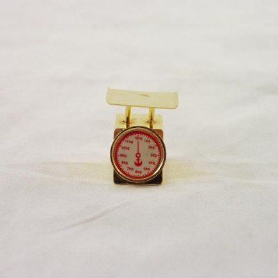 Weegschaal miniatuur 2.5cmH