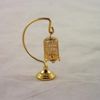 Vogelkooi aan staander miniatuur 6cmH