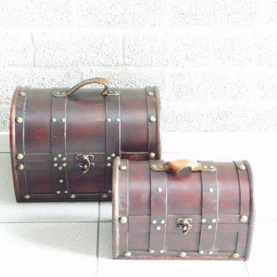 Koffer set 2-dlg 33x22x24cmH 28x17x19cmH