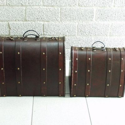 Kofferset 2-dlg 38x27x31cmH 31x23x26cmH