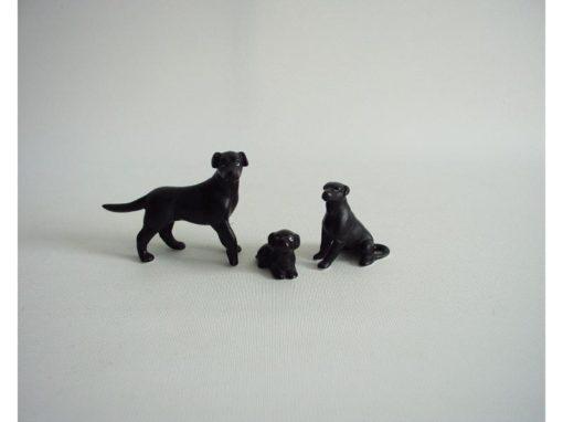 Labrador set mat 7cmLx5cmH