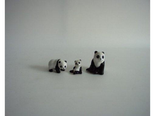 Panda set 3-delig 4cmH