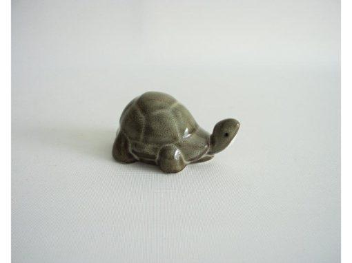 Schildpad grijs/bruin 8cmLx4cmH