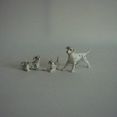 Dalmatiër set 7cmLx4.5cmH