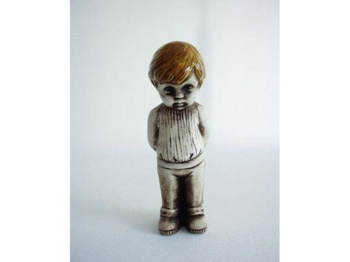 Jongen bruin staand 13.5cmH