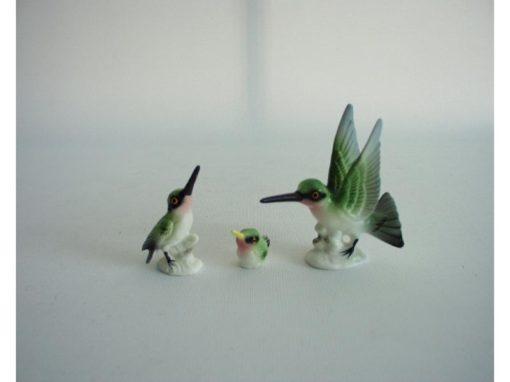 Kolibrie set mat 6.5cmLx6.5cmH