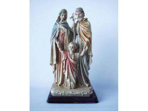 Maria met Jozef en kind 28cmH