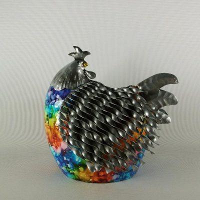 Metalen dieren figuren