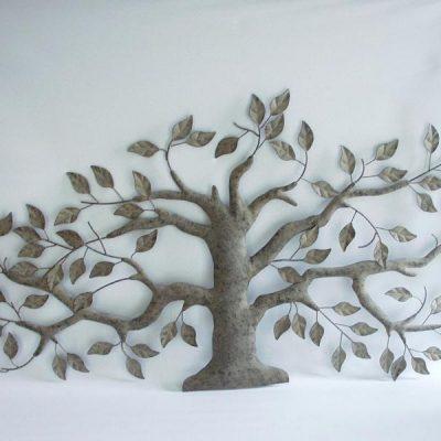 Wanddecoratie metaal