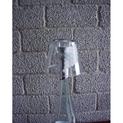Bottlelight met druiventros 11cmH