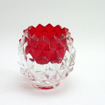 Sfeerlicht ananas rood 7cmH