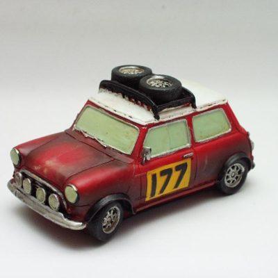 Mini Ralley rood 14cmLx7.5cmH
