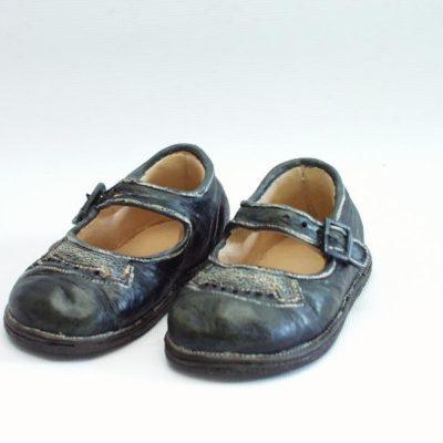 Kinderschoentjes zwart stel (9372)