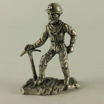 Mijnwerker staand 6cmH