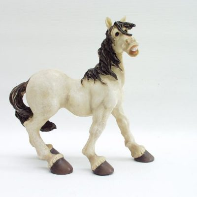 Paard staand 16x17cmH