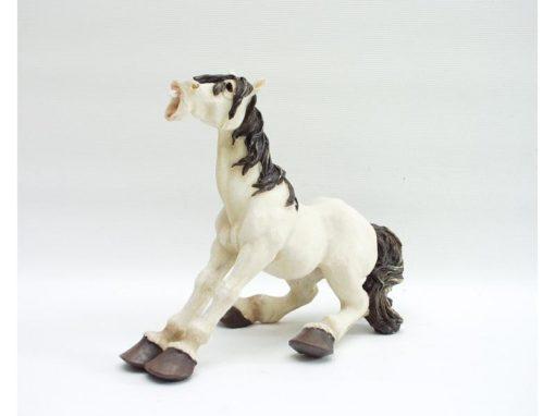 Paard zittend 15cmH