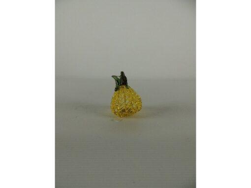 Ananas gekleurd gesponnen glas