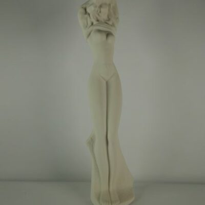 vrouw naakt porselein 39cmH
