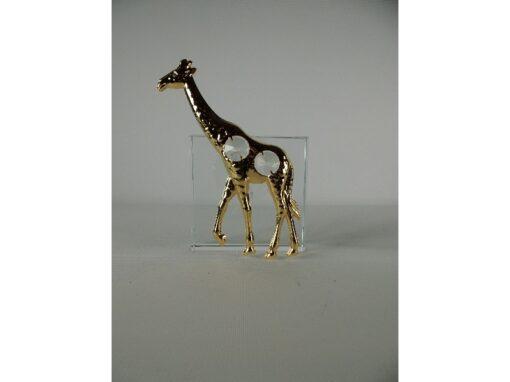 Raamdecoratie giraffe 13cmH