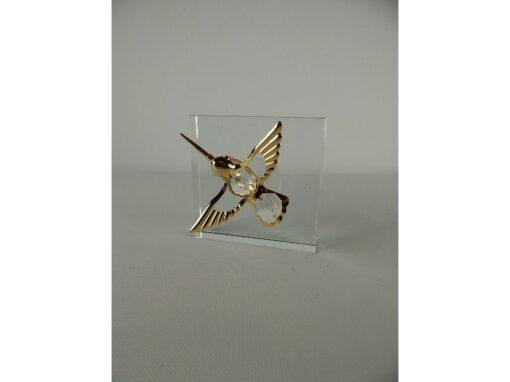 Raamdecoratie kolibri klein 6.5cmL