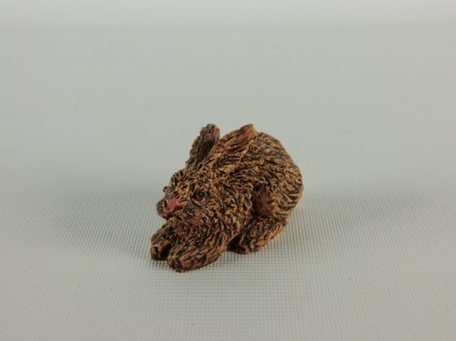 Konijn miniatuur 4,5cmLx3cmH