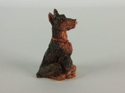 Dobermann miniatuur 5cmH