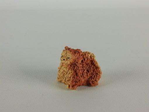 Pekingees miniatuur 3cmLx2.5cmH