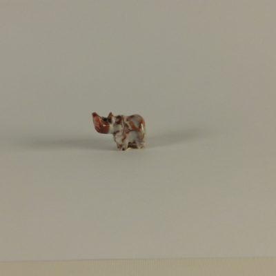 Nijlpaard marmer XS 2cmL