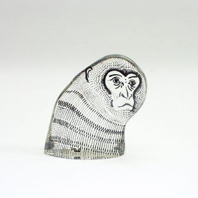 Gorilla kop acryl 7cmH