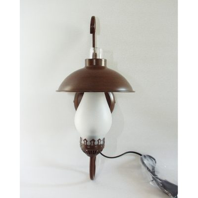 Wandlamp 1 glas 44cmH