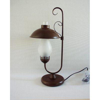Staande lamp 1 glas 49cmH