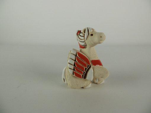 Pegasus zittend keramiek 7.5cmH