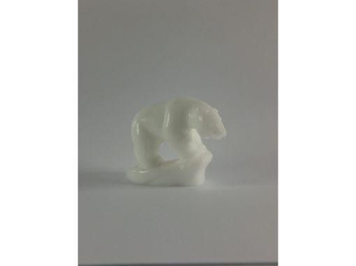 IJsbeer staand wit steen 6cmLx5cmH