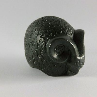 Steenbok steen 6.5cmLx5.5cmH