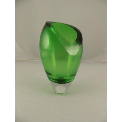 Trofee glas groen 20cmH