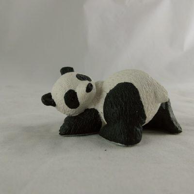 Panda GUNG-HO omkijkend klein 8cmLx4cmH