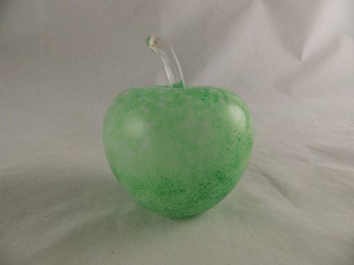 Appel glas groen Ø8.5cmx10cmH