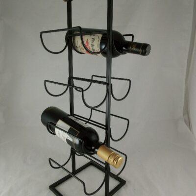 Wijnrek staand voor 8 flessen 19.5x60cmH