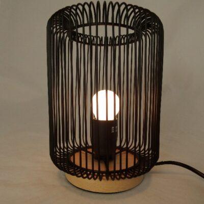 Tafellamp metaal Ø16.5cmx22cmH