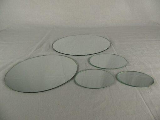 Spiegel ovaal 27x30cm