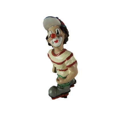 Clown op skeelers 10cmH