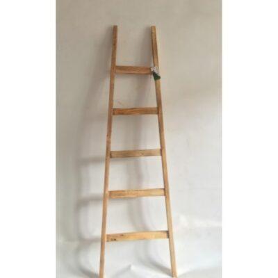Ladder hout naturel 150cmH